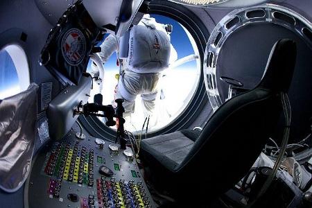 Interior de la capsula