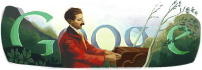 Doodle Enrique Granados