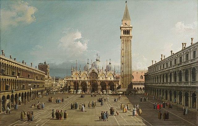 Plaza de San Marcos. Canaletto
