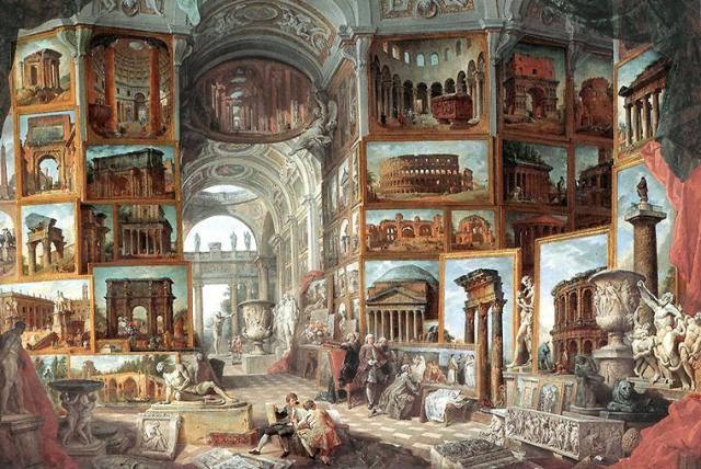 Alegoria del Arte Italiana. Giovanni Paolo